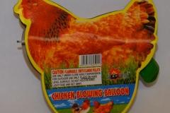 Novelty Fireworks - Chicken Blowing Balloon (2)