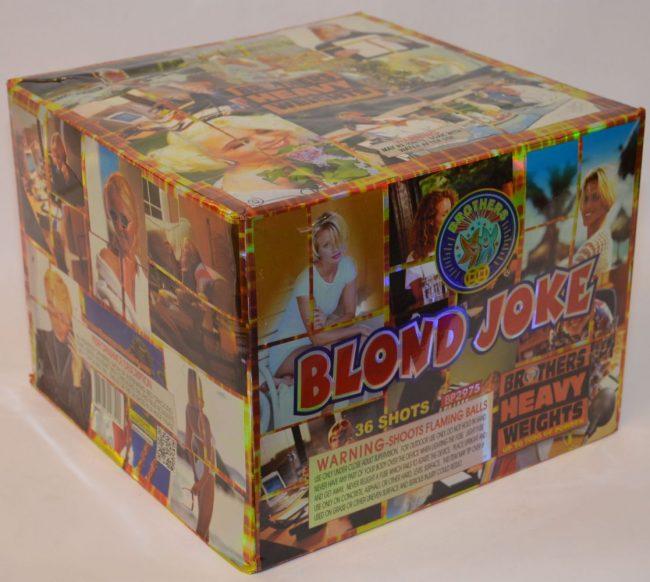 500 Gram Finale Cake – Blond Joke 1