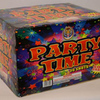 500 Gram Finale Cake – Party Time 3