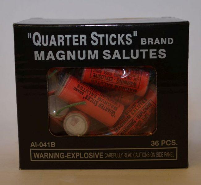 Firecrackers – Quarter Sticks Magnum Salutes (3)