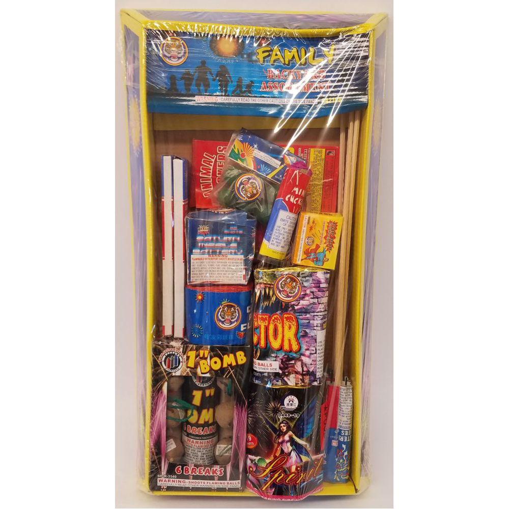 family backyard assortment u2013 buy fireworks in fort pierce