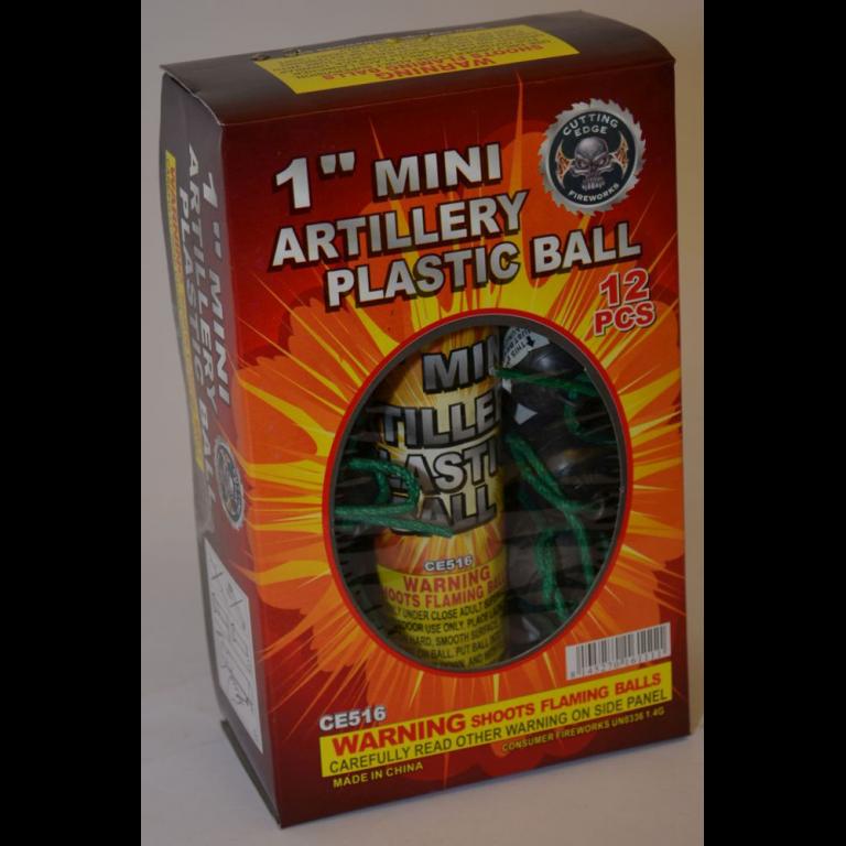 Mortars – 1 Inch Mini Artillery Plastic Ball (1)