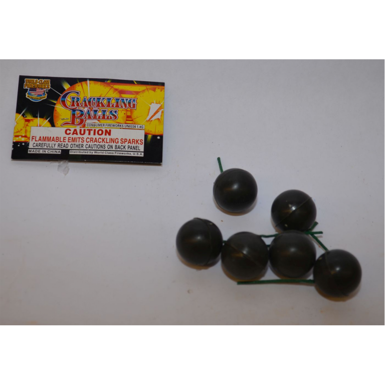 Smoke Bombs – Crackling Balls (1)
