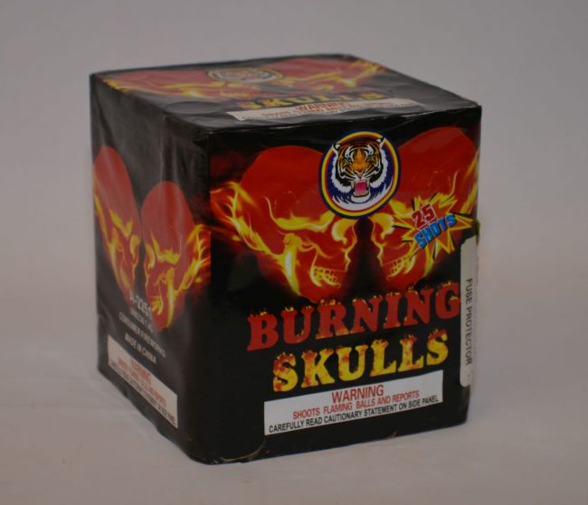 200 Grams Repeaters – Burning Skulls 2