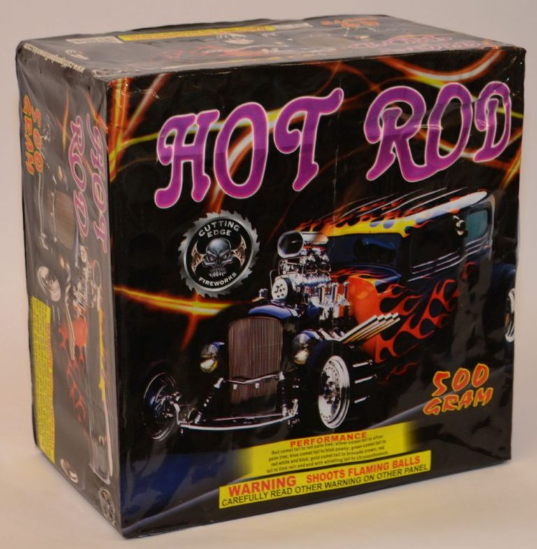 500 Gram Finale Cake – Hot Rod 1