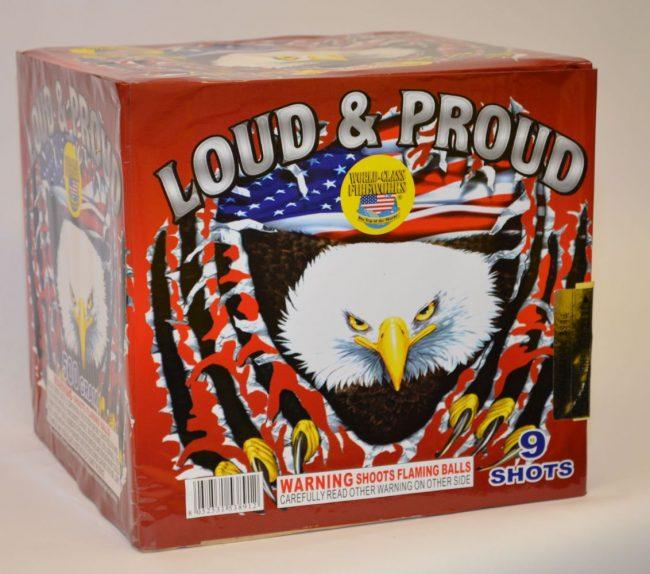 500 Gram Finale Cake – Loud & Proud 1