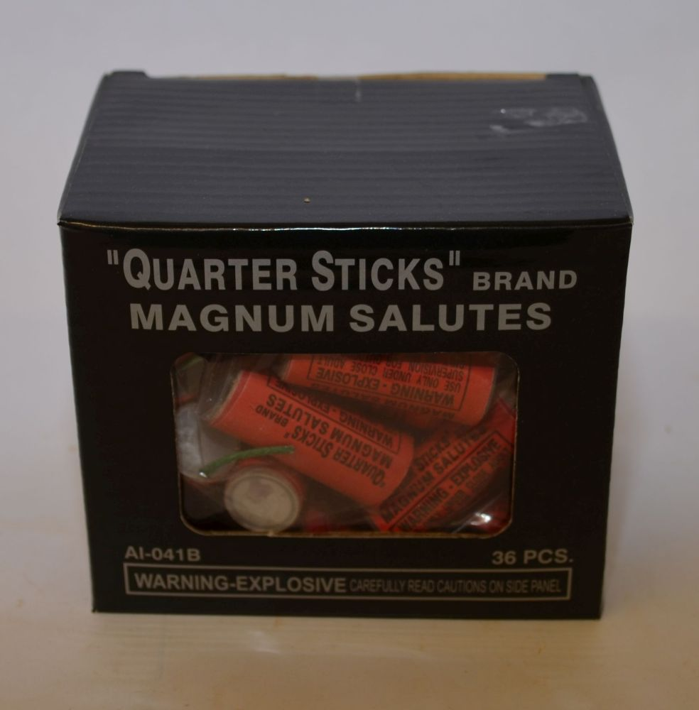 Quarter Sticks Magnum Salutes – Buy Fireworks in Fort Pierce