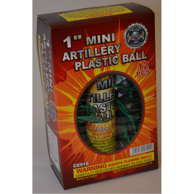 Mortars – 1 Inch Mini Artillery Plastic Ball (1)