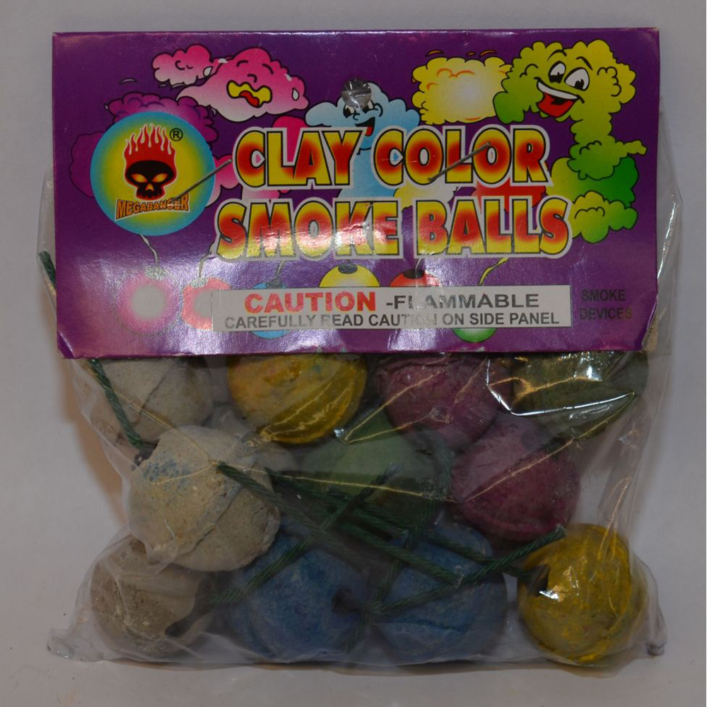 Clay Color Smoke Balls – Buy Fireworks in Fort Pierce @ Wholesale Prices
